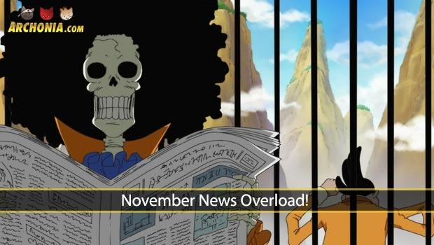 November News Overload!
