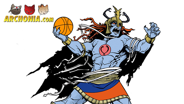 80's Super-villains Playing Smashmouth Basketball