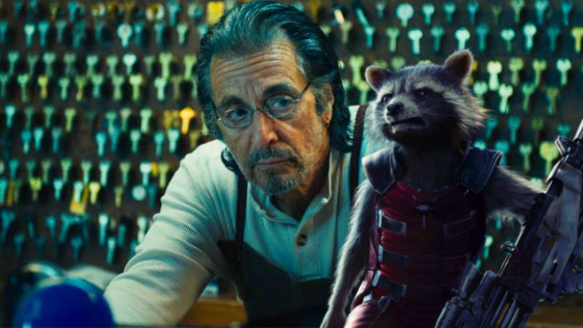 Al-Pacino-starring in one of the next Marvel Studios Movies alongside rocket raccoon?