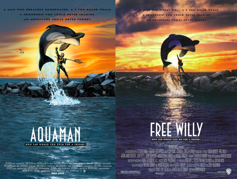 Aquaman---Free-Willy---DC-Comics
