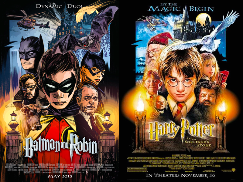 Batman-and-Robin---Harry-Potter-DC-Comics
