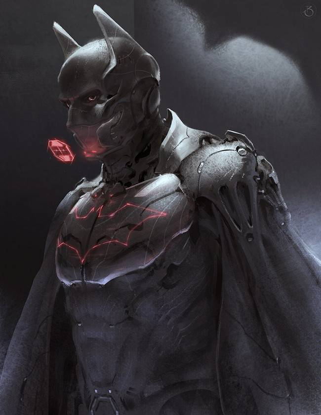 future tech batman