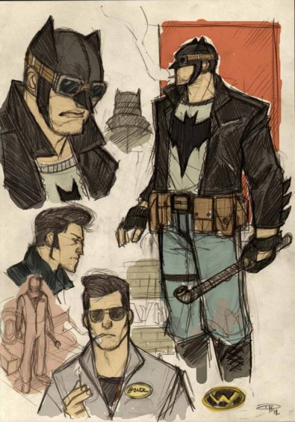 greaser batman