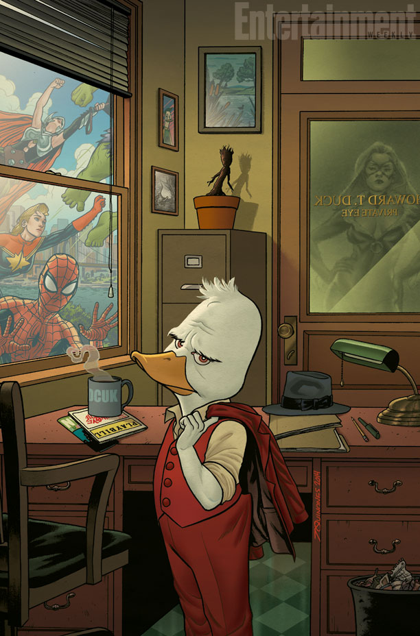 howard_the_duck_marvel_comic_firstdrawing