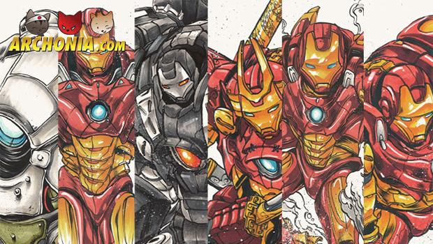 Iron Man's Samurai Armor Awesomeness