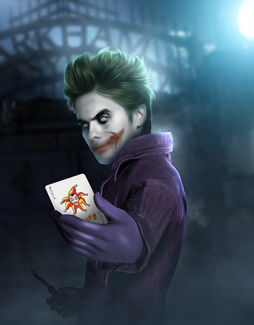 Suicide Squad Movie Cast - Jared Leto as The Joker