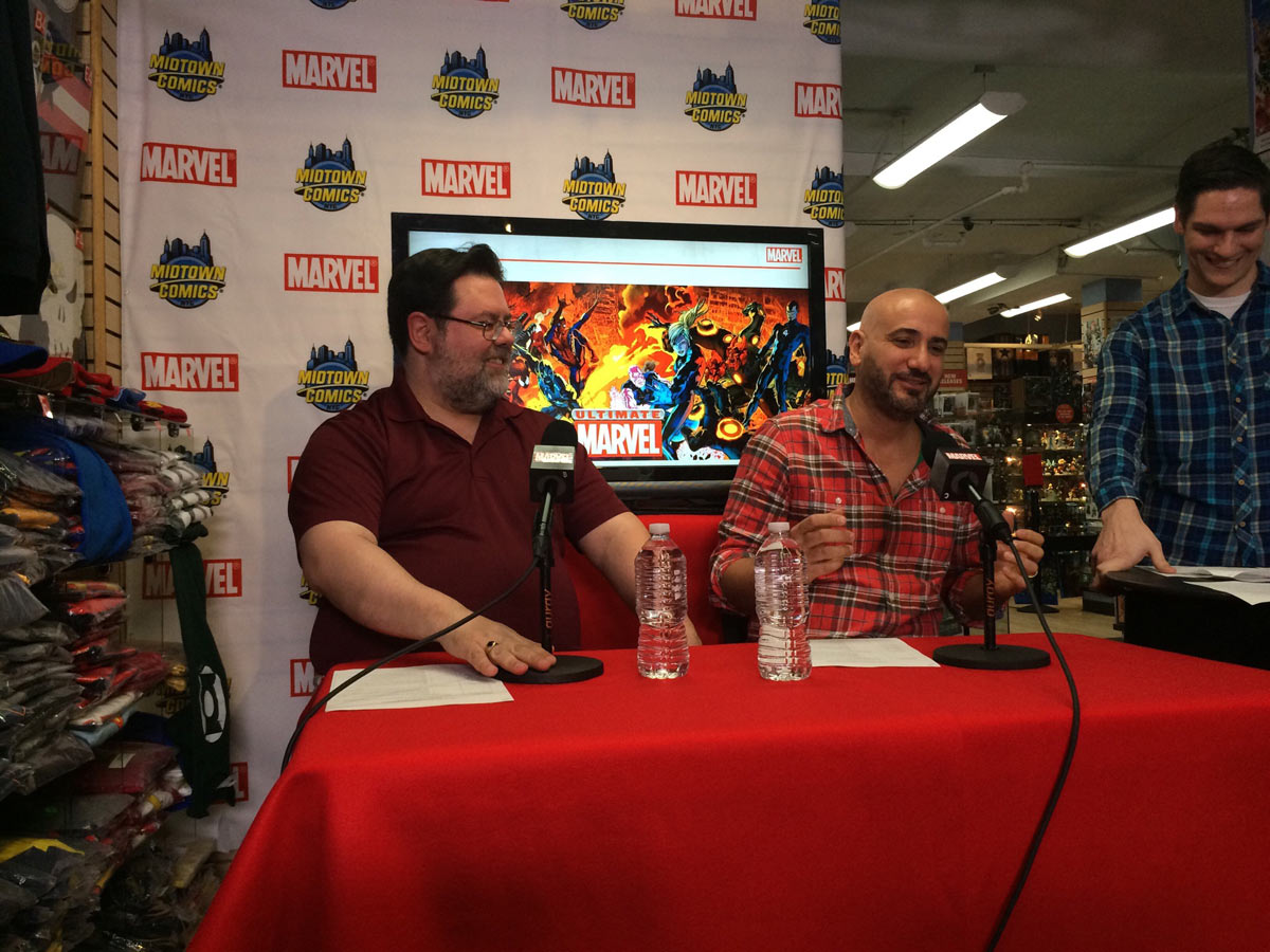 Marvel's Axel Alonso and Tom Brevoort