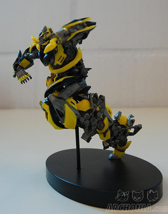 Transformers Lost Age Bumblebee Side View