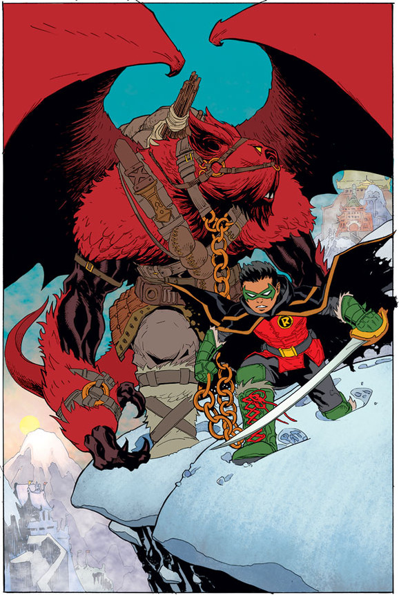 New 52 ends - Robin Son of Batman