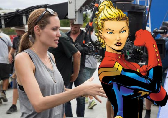 Marvel wants Angeline Jolie to direct Captain Marvel