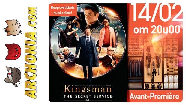 Archonia stuurt je naar Kingsman: Secret Service in de Euroscoop Genk!