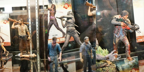 10 Inch Walking Dead Statues