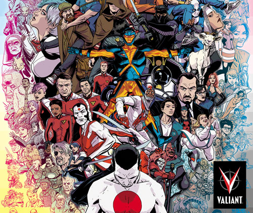 Valiant Comics Cuts Huge Movie/TV Deal