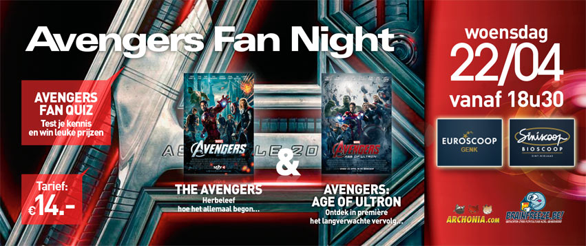 Avengers: Age of Ultron Fan Screening