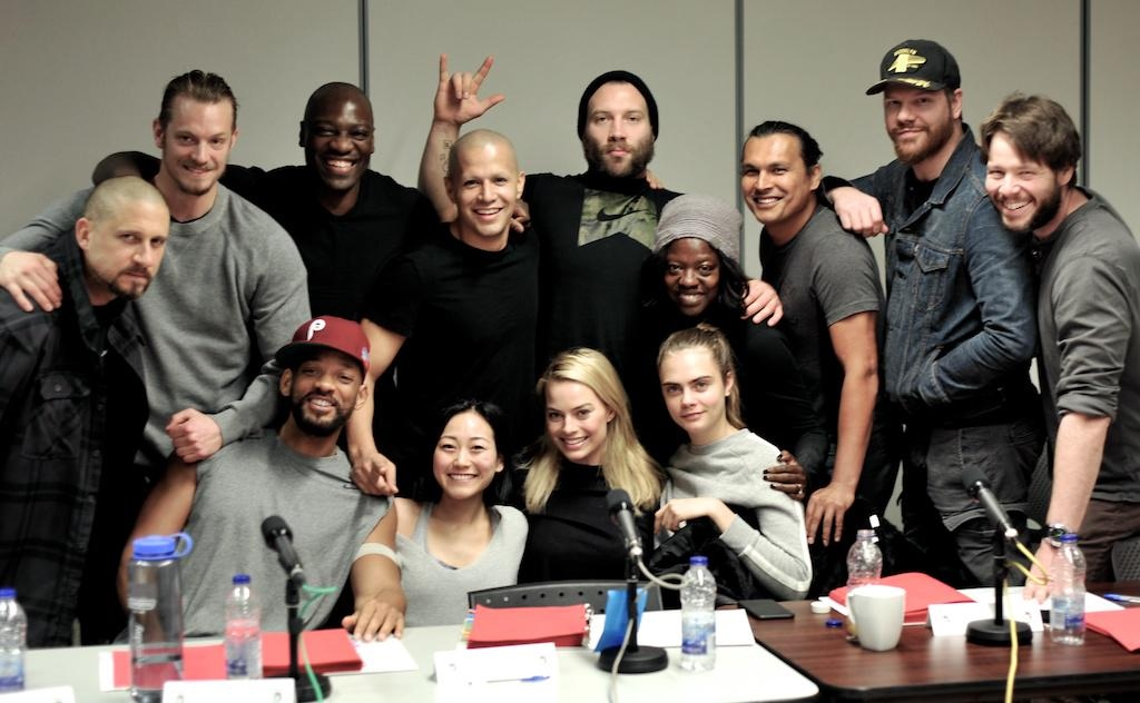First Picture of Suicide Squad Cast