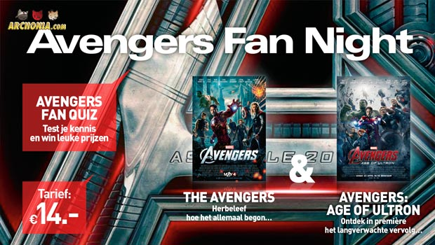 Win Tickets for the Avengers Fan Night on April 22nd!