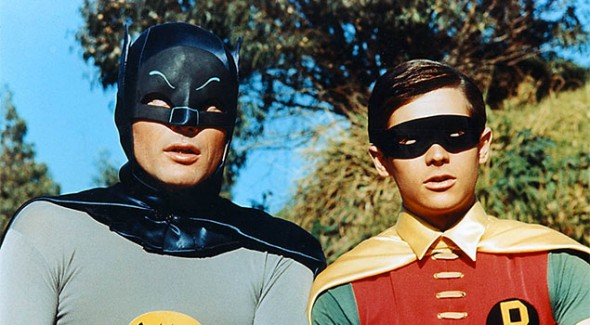 Adam West and Burt Ward Return To Batman