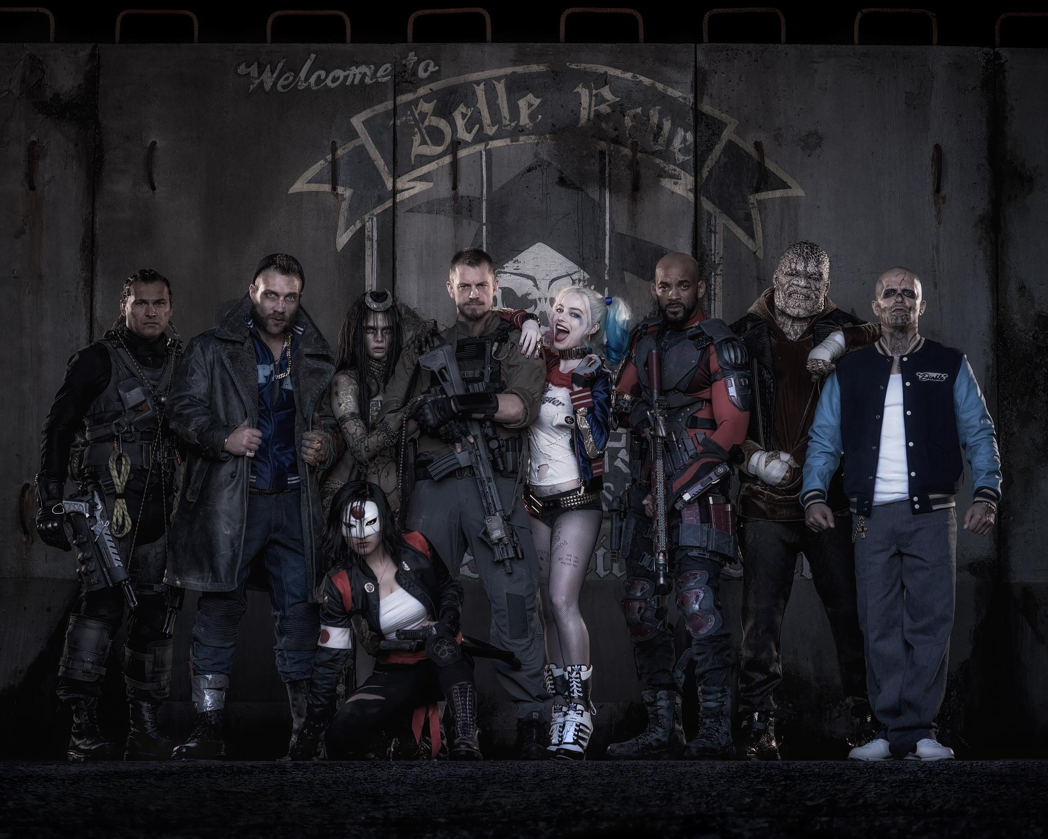 Suicide Squad revealed