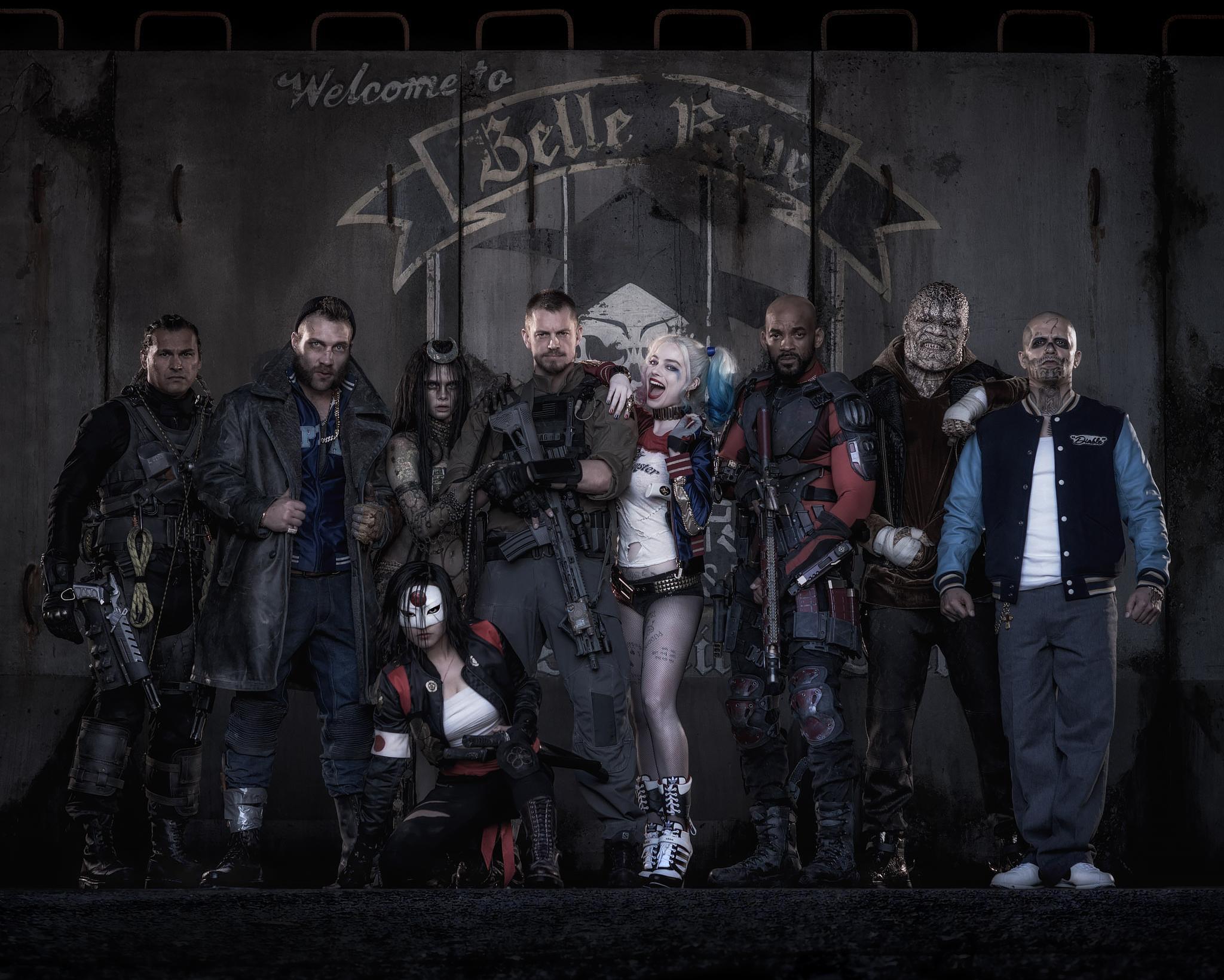 Suicide Squad revealed