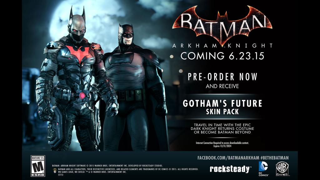 Batman Arkham Knight Skins