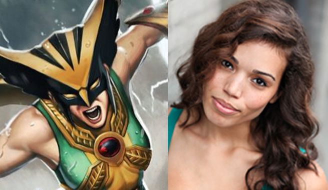 Hawkgirl Confirms Legends Characters in Flash Finale