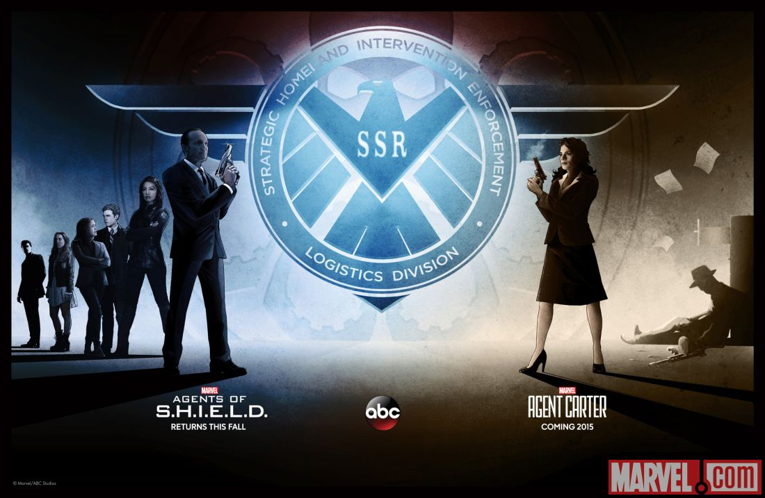 Agents of SHIELD and Agent Carter renewed