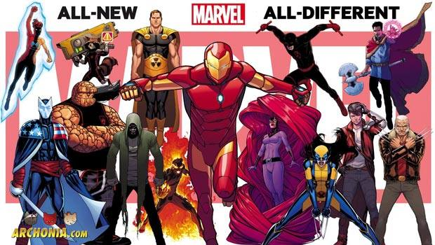 All New All Different Marvel Starts In October
