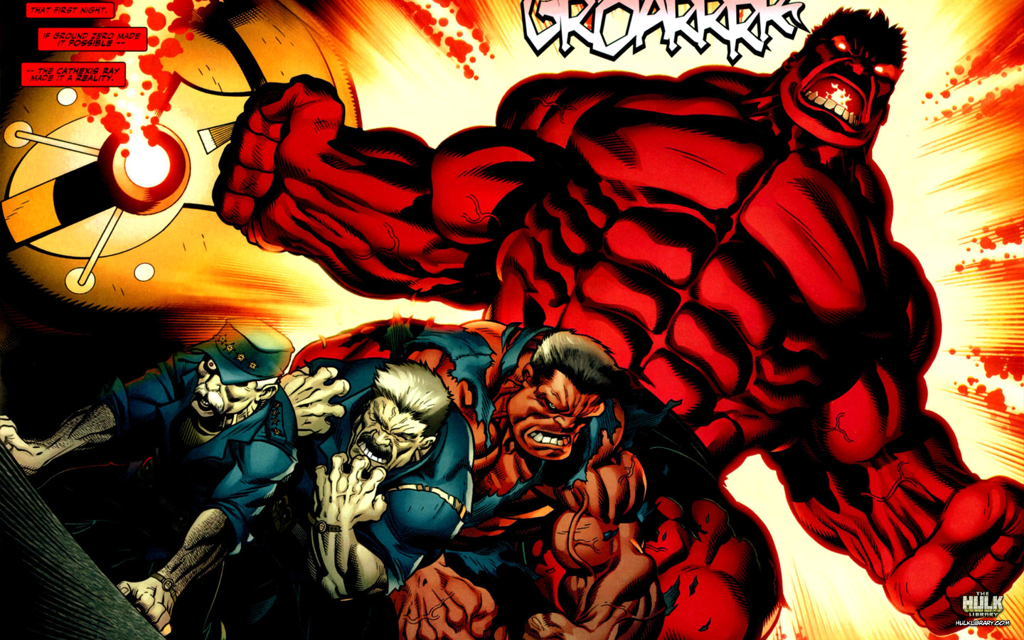 More Red Hulk hints for Civil War