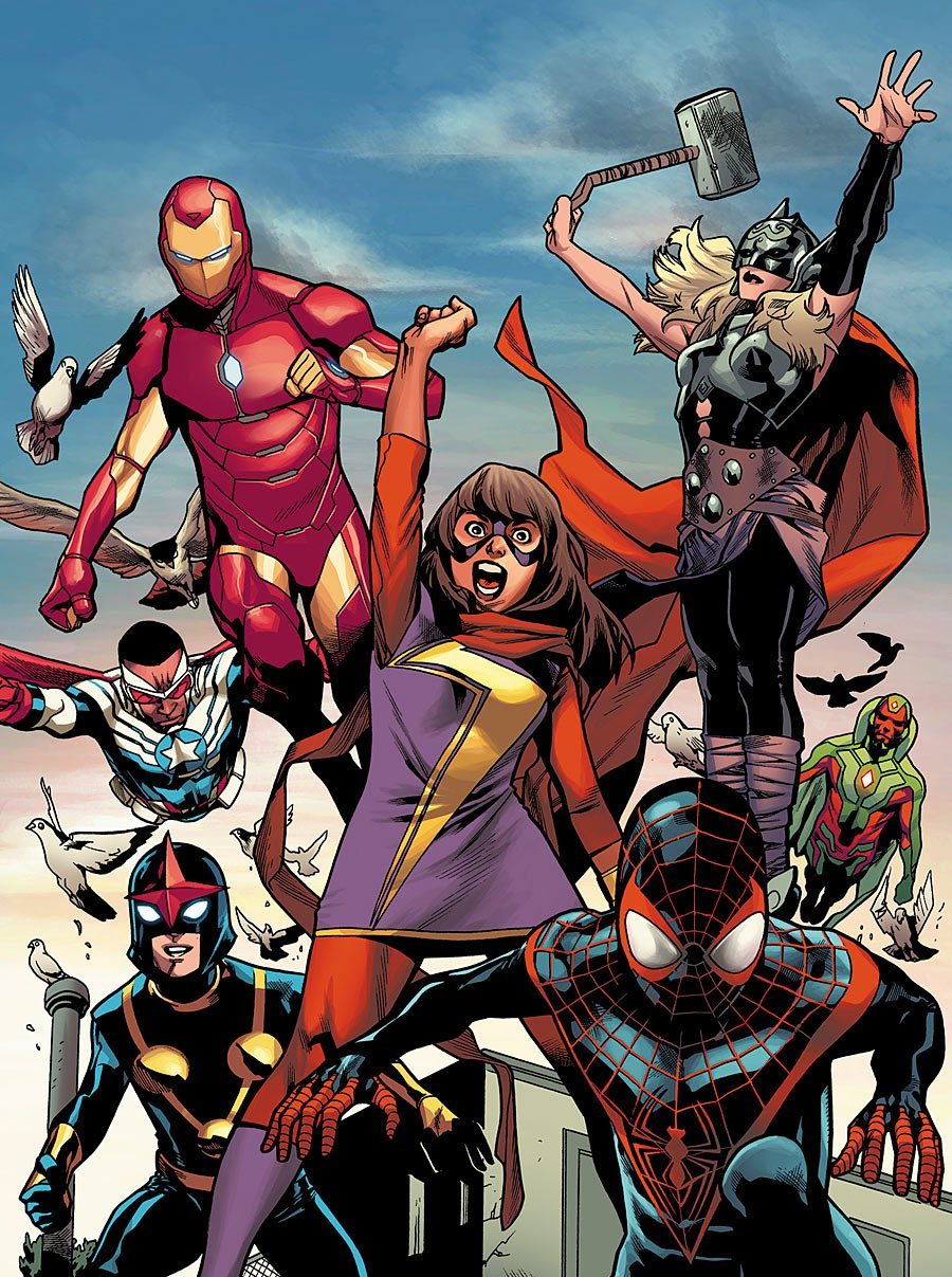 All New All Different Marvel 3