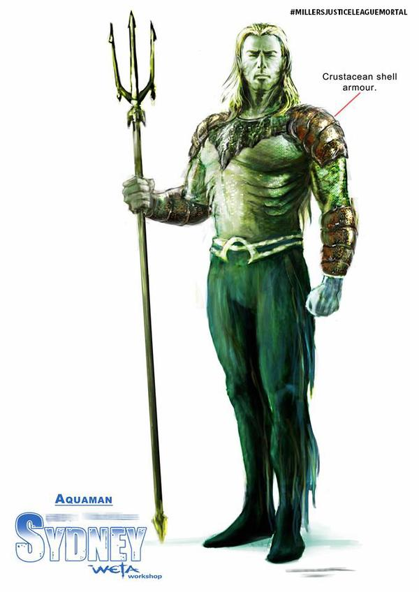 Justice League Mortal Aquaman
