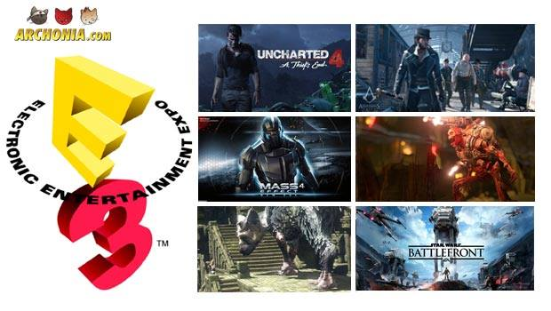 E3 2015 Special or MYGODIWANNAPLAYALLOFTHAT