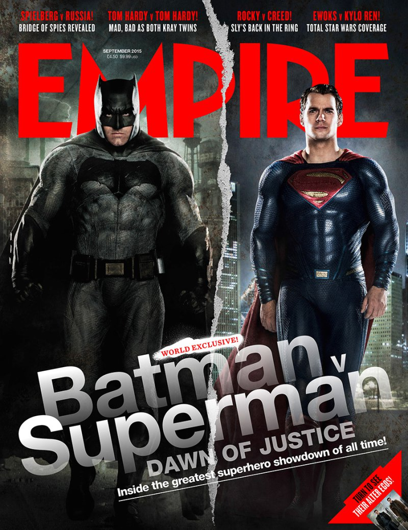 Batman v Superman gets Empire Cover