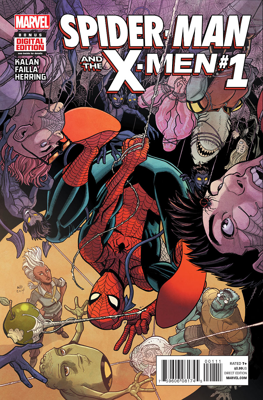 Spider-man and the X-Men vol.1