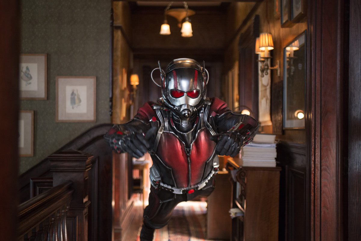 Ant-Man Heads Into Theaters