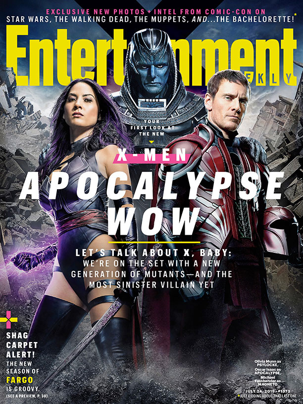 New Look At Apocalypse From The Next X-Men Movie 2