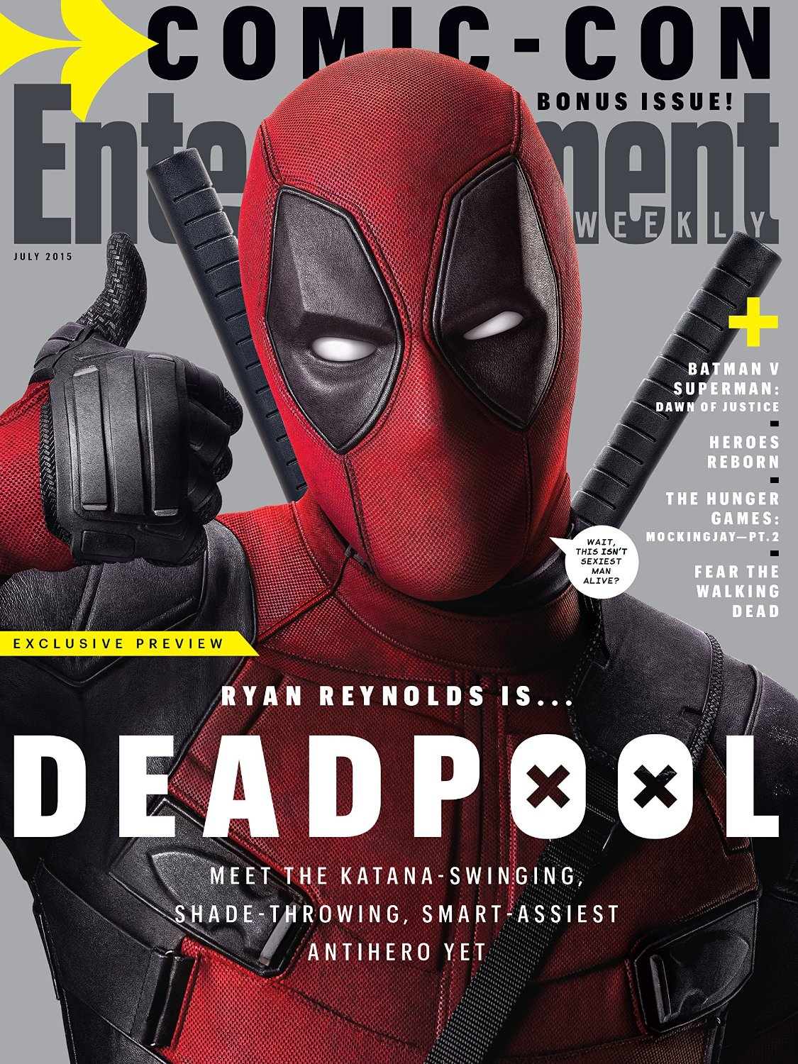 Deadpool gets a Cover and Infos Too