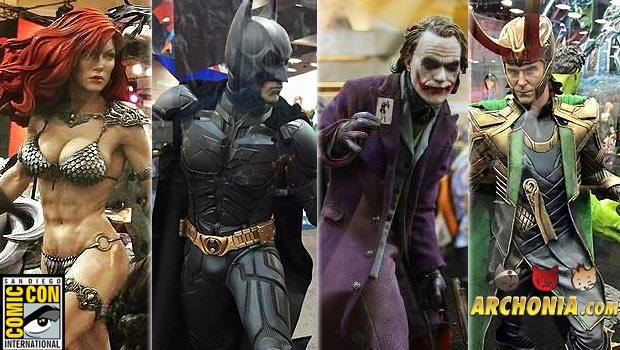 SDCC 2015 Statue Highlights