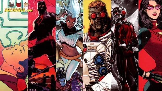 New Titles For New Marvel Universe Revealed