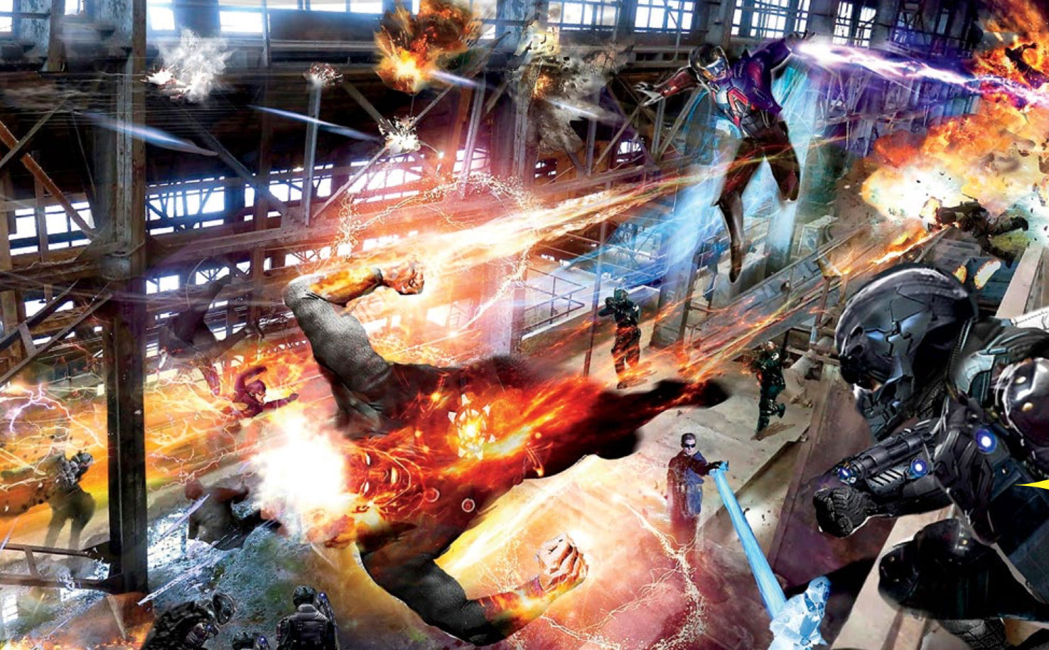 Legends of Tomorrow Concept Art
