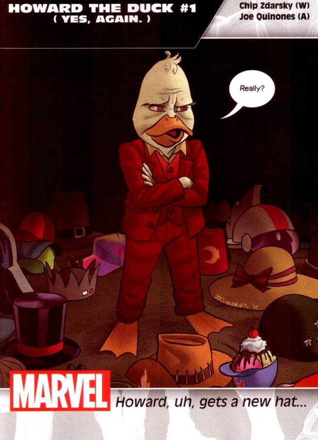 Howard the Duck #1 (yes, again.)