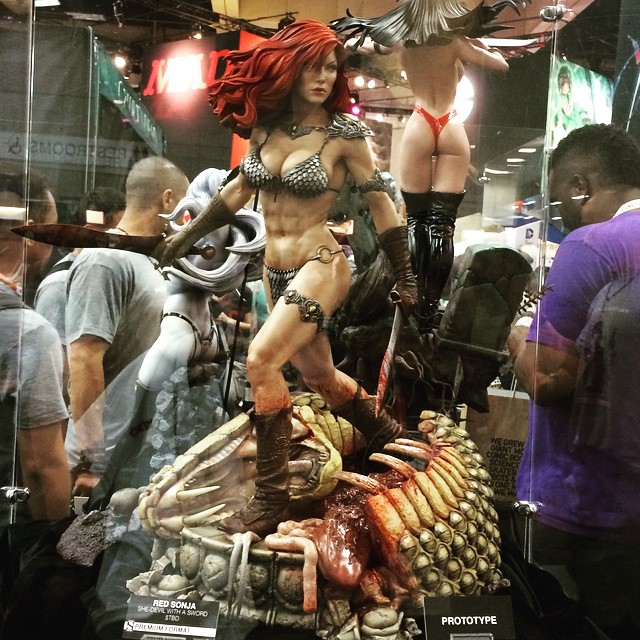 New Red Sonja Premium Format Figure