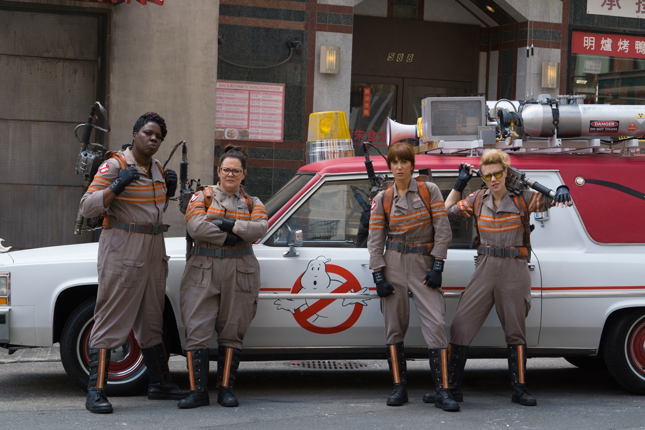 Ghostbusters Reboot News