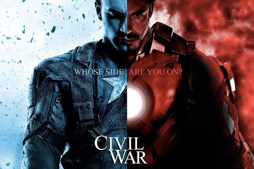 Civil War Wrapped Filming