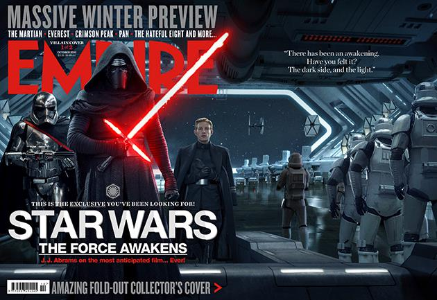 New Empire Star Wars Cover