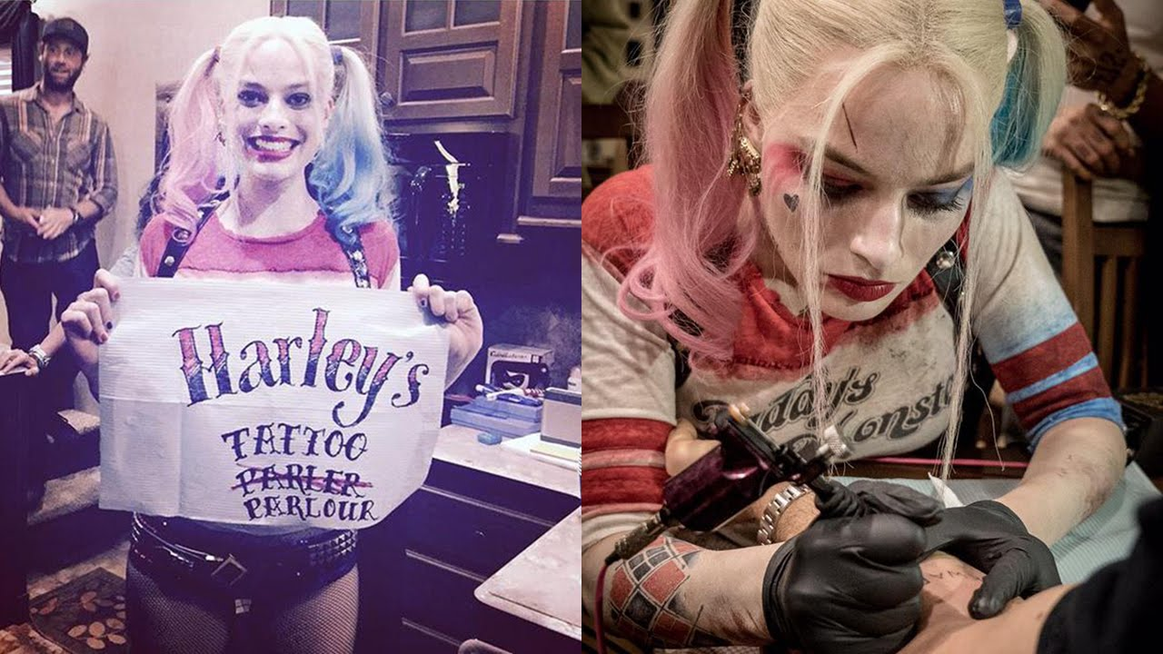 Suicide Squad Interview And Tattoos