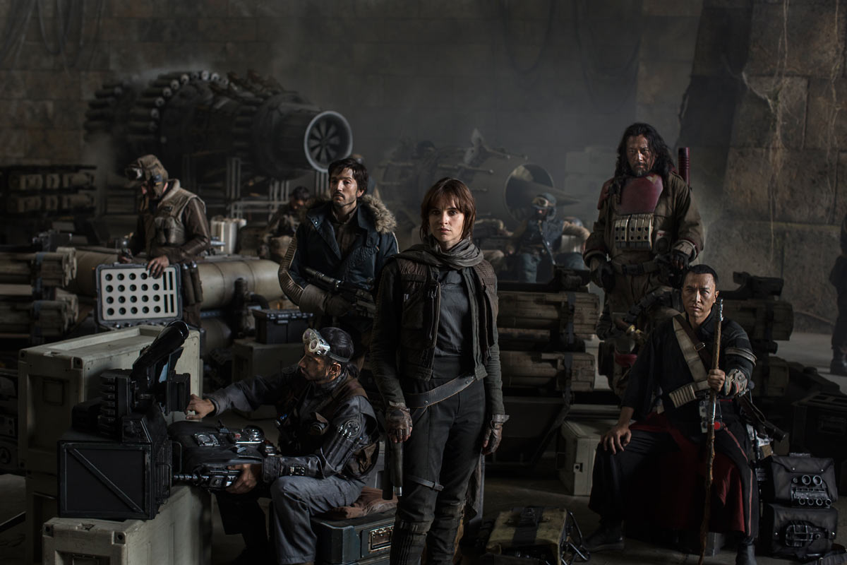 Star Wars Rogue One Cast Picture