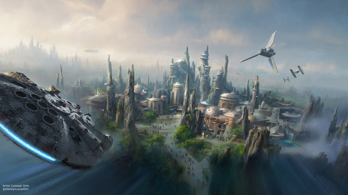 Star Wars Theme Parks Being Planned
