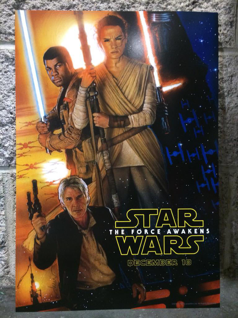 New Drew Struzan Star Wars Poster