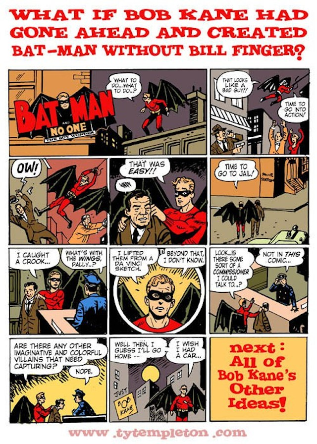 Bill Finger Finally Gets Credit For Co-Creating Batman