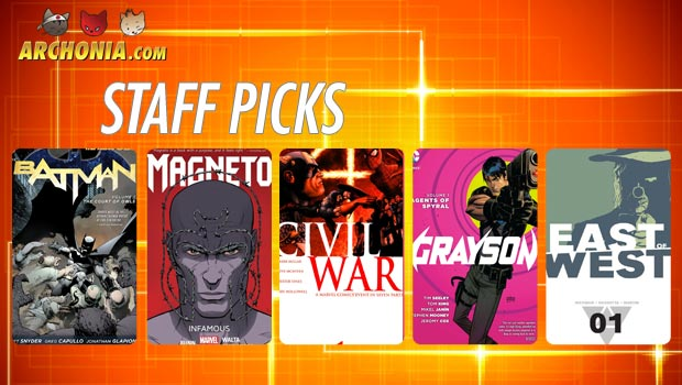 Comic Staff Picks